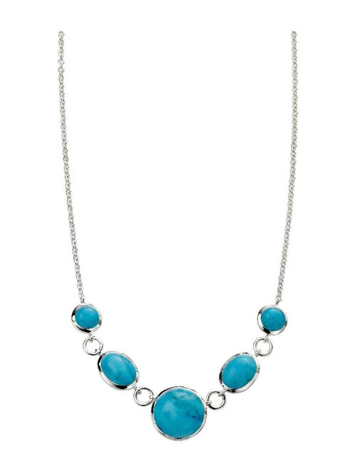 Sterling Silver Magnesite Necklace