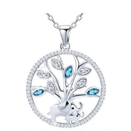 Sterling Silver Tree of life/Mother & child pendant