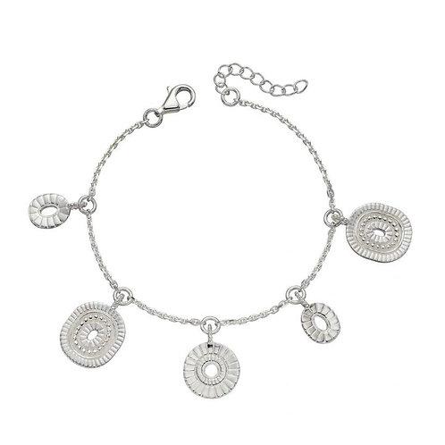 Sterling Silver Bali style Bracelet