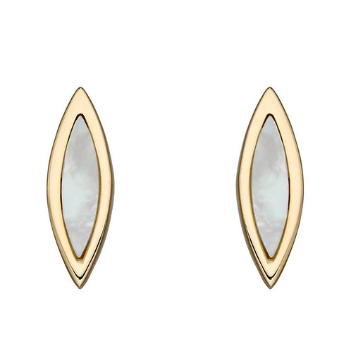 9ct Gold Mother of Pearl Studs