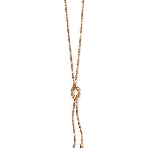 9ct Gold Popcorn Knot Necklace