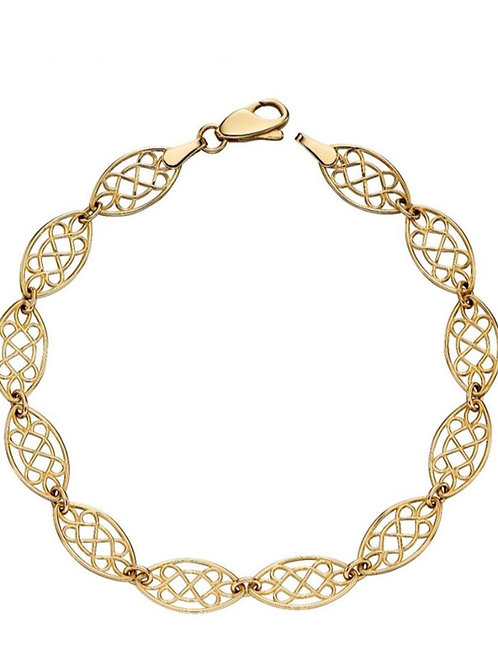 9ct Gold Celtic Knot Bracelet