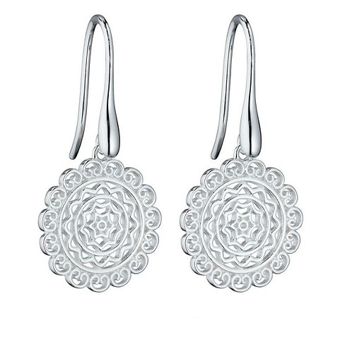 Sterling Silver Filigree Droppers