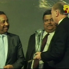 Presenting a BCA Award