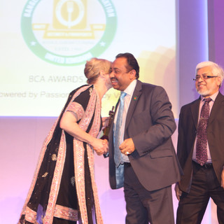 Bajloor presented with Honour Award at the BCA Awards 2012