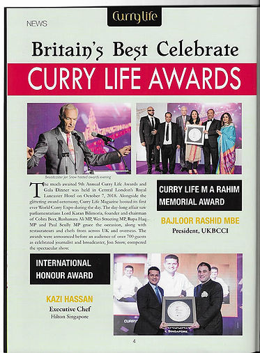 Curry Life Awards Pg 1 M A Rahim Memoria