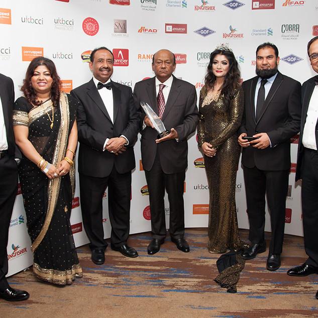 UKBCCI Business Awards - LIFETIME ACHIEVEMENT AWARD WINNER- 2017 Latifur Rahman