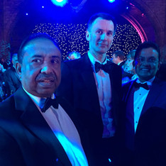 Bajloor with Jeremy Hunt MP