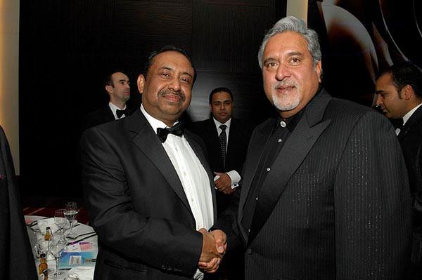 Bajloor with Vijay Mallya