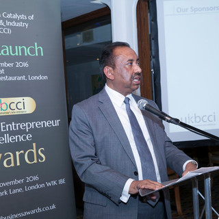 Bajloor at the UKBCCI Business Awards 2017 Press Launch