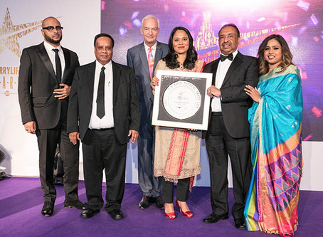 Bajloor receives new award from Curry Life