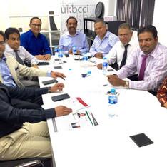 UKBCCI Directors Board Meeting Aug 2016.