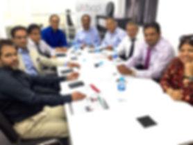 UKBCCI Directors at their HQ.