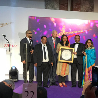 Bajloor receives new award from Curry Life Oct 2018