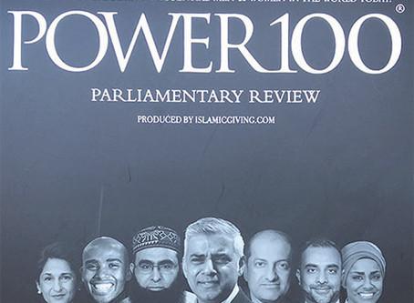 Bajloor Rashid MBE makes the Muslim Power 100 list