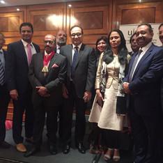 UKBCCI Directors with Rushanara Ali MP