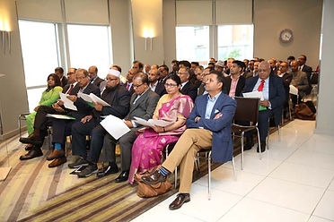 Attendees at the UKBCCI Awards 2017 launch.