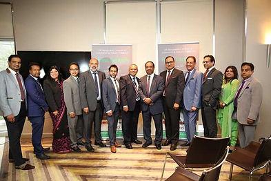 UKBCCI Directors at UKBCCI Awards launch 2017.