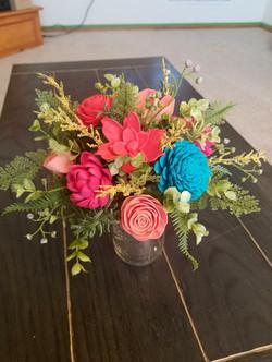 Bright Fern Bouquet