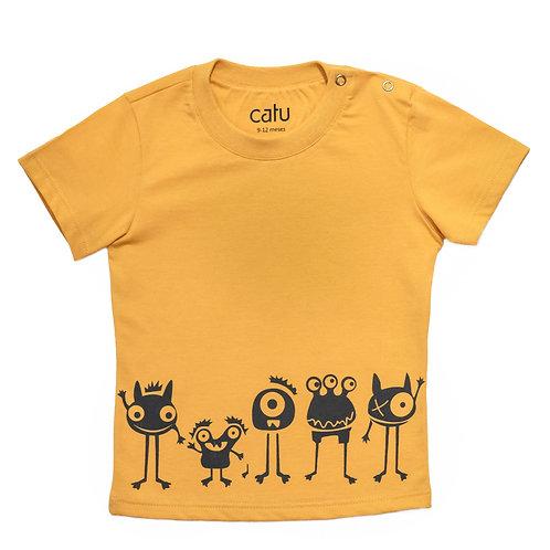 Criança Urbana: Camiseta Monstrinhos