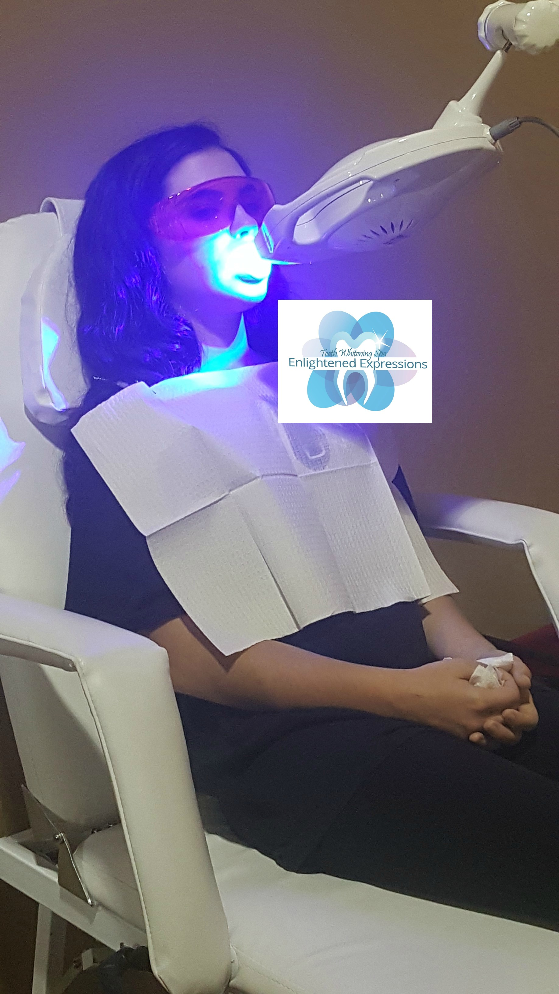 Teeth Whitening Process