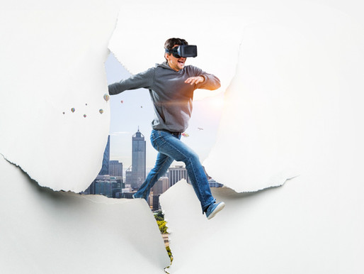 Virtual Reality is booming amid the pandemic.