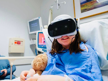 Virtual Reality helping hospitalized patients