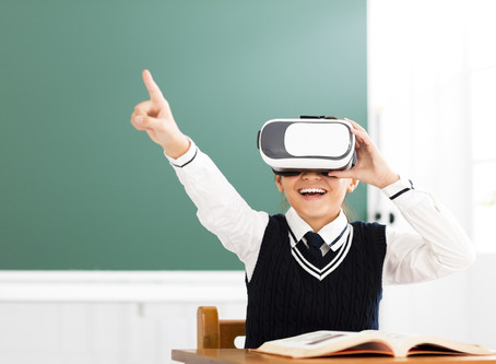 VR is a powerful tech enhancing children development