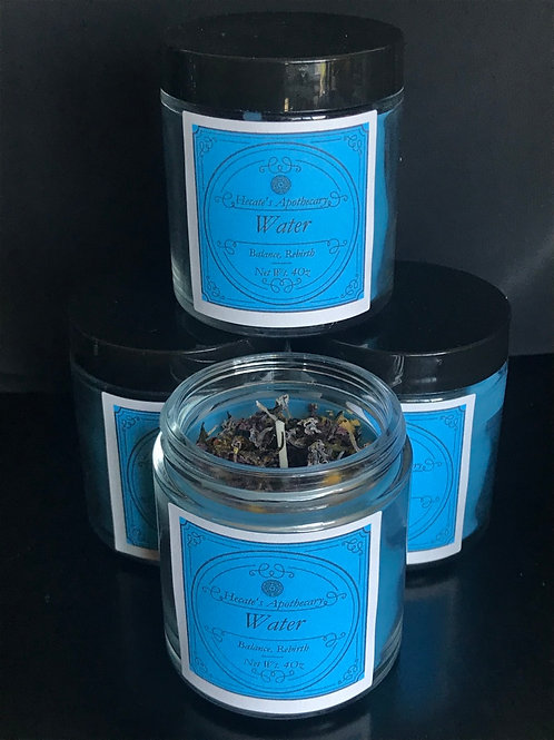 Water Elemental Candle