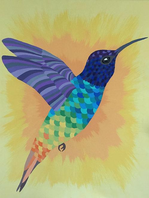 Hummingbird Single Card