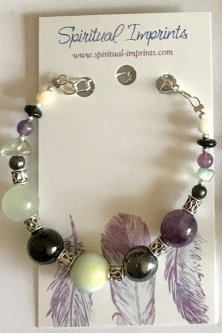 Mercury Retrograde Support - Silver Bracelet