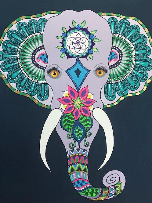 Elephant Single Card
