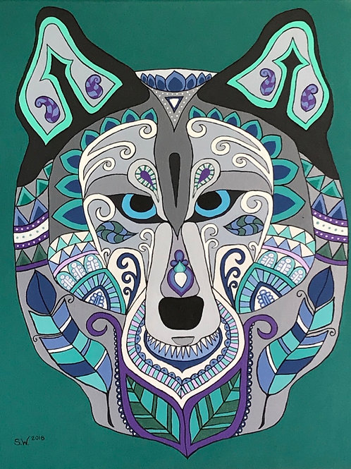 Wolf Single Card