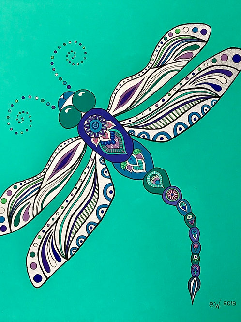 Dragonfly Single Card