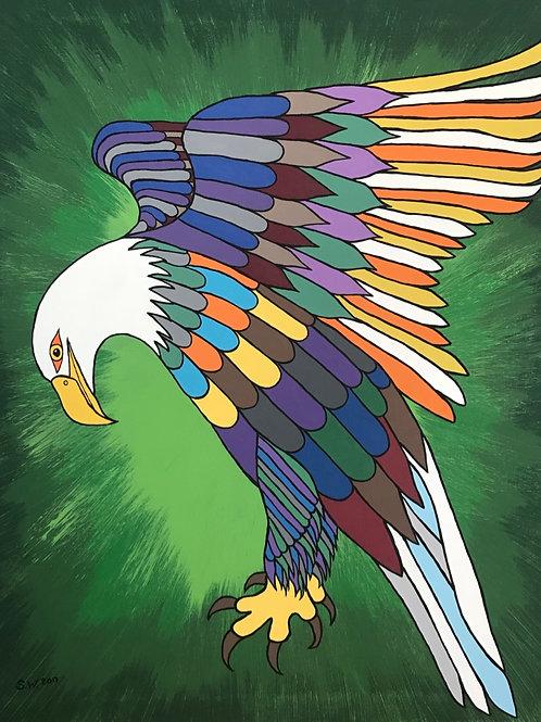 Eagle Single Card