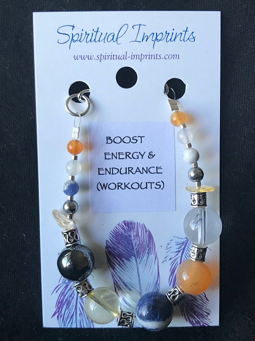 Boost Energy - Silver Plated Bracelet