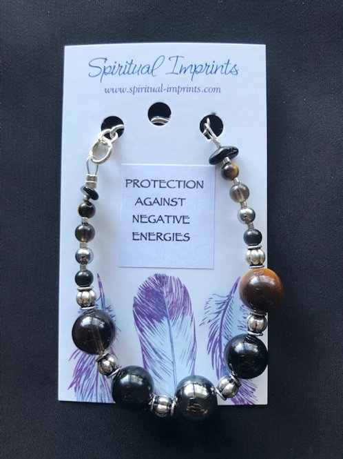 Protection - Silver Plated Bracelet