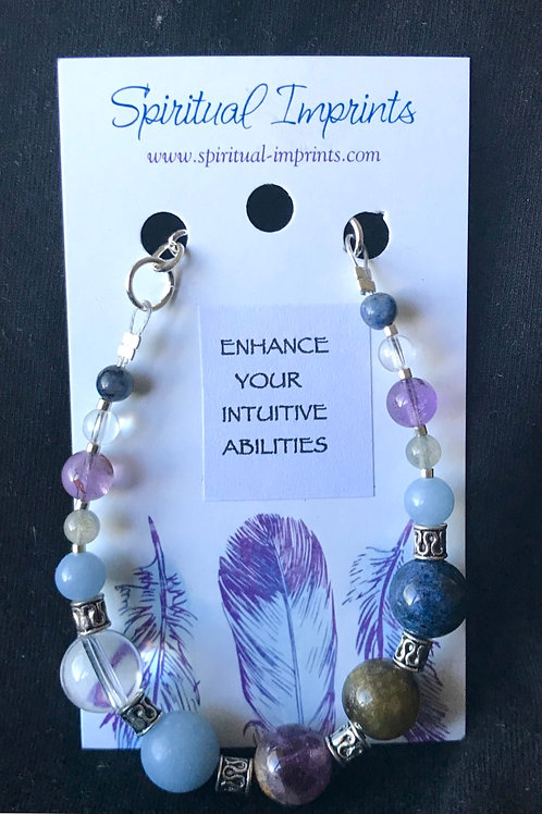 Enhance Intuition - Silver Plated Bracelet