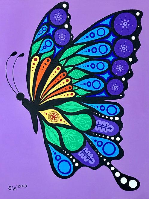 Butterfly Single Card