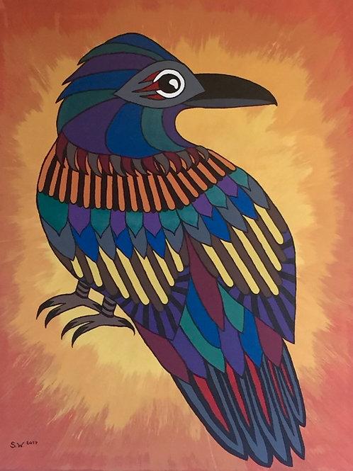Raven Single Card