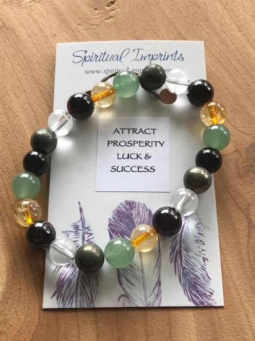 Attract Prosperity - Elasticized Bracelet
