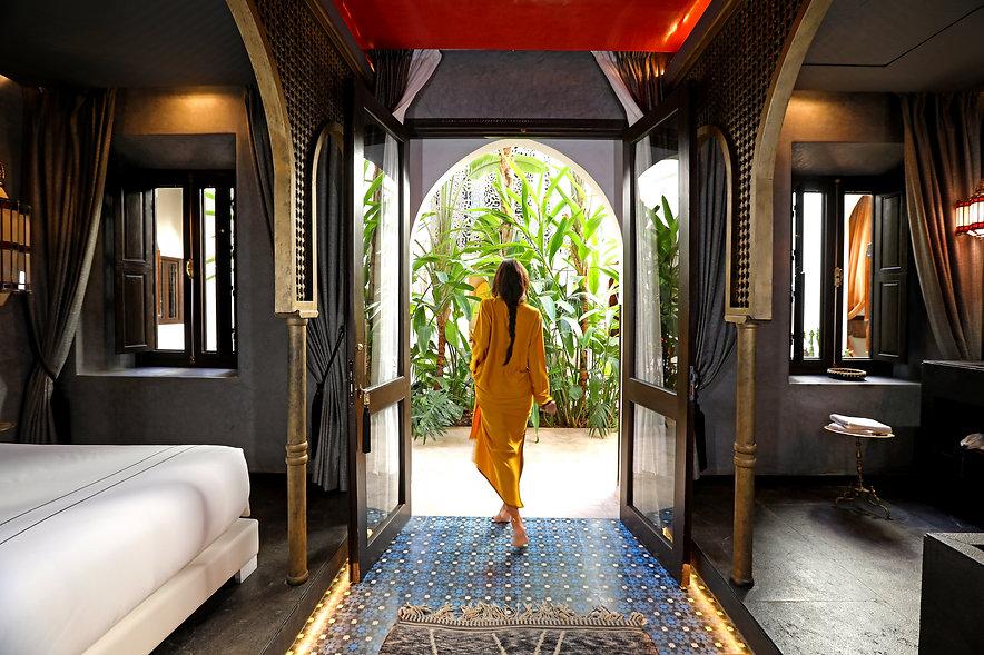 Suite of hotel marrakech