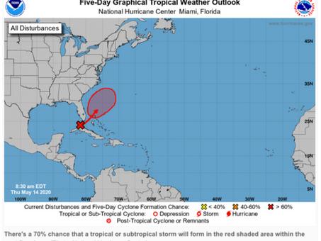 Hurricane Season 2020 starting early?