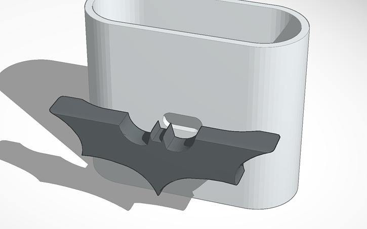 Dark Knight necktie clip