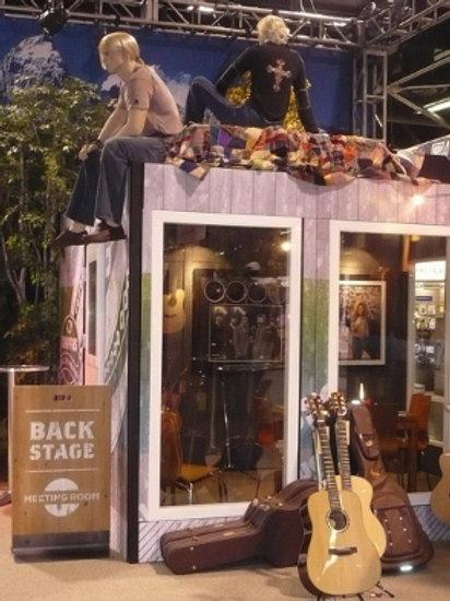 Themed Booths and Kiosks