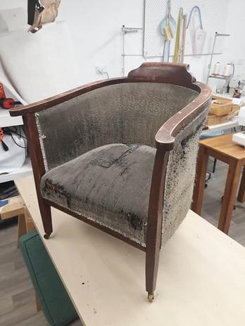 Tub Chair - Before