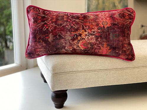 'Genie' velvet cushion
