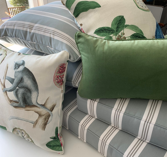 Squabs and cushions