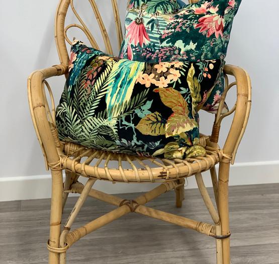 Linwood Velvet cushions