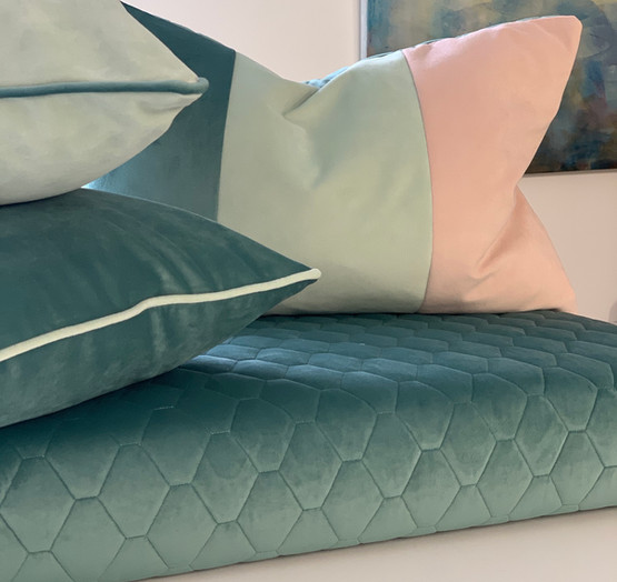 Bedroom refresh cushion collection
